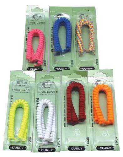 48 pc Curly Shoe Laces