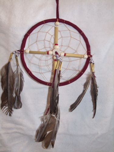 "6.5"" Dream Catcher with Cross"