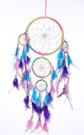 """6.5"""" Dream Catcher with 4 Circles"""