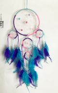 """4"""" Dream Catcher with 4 Circles"""