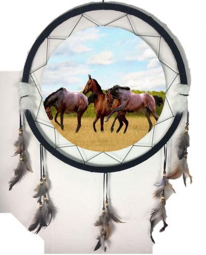 """6.5"""" Mandala Horse (6 Assortment)"""