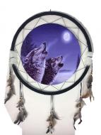 """24"""" Mandala Wolf Asst"""