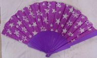 Glitter Star Fan with Matching Handles