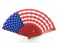 Folding Fan (US Flag)