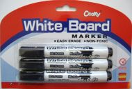 3 pc Erasable Marker Set (black only)