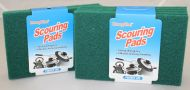 5 pc Green Scouring Pads