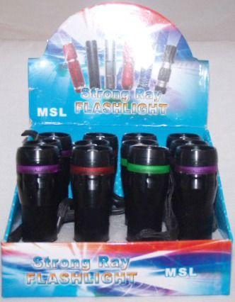 Metal Zoom Flashlight