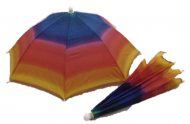"22"" Umbrella Hat-Rainbow"