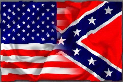 """3 x 5 Flag """"USA/Rebel"""""""
