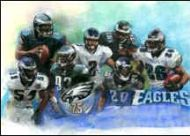 Eagles 75th Graphic Art