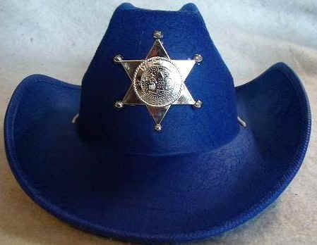 Sheriff Hat Assorted