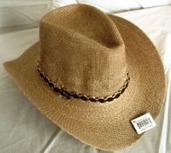 Woven Adult Cowboy Hat 3 Color