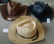 Youth Mesh Cowboy Hat Tan/Brown/Black