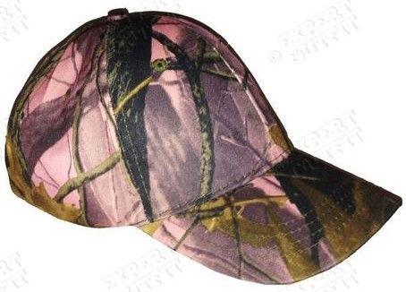 Pink Leaf Baseball Cap Youth