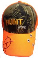"Baseball Cap ""Hunt Work"""