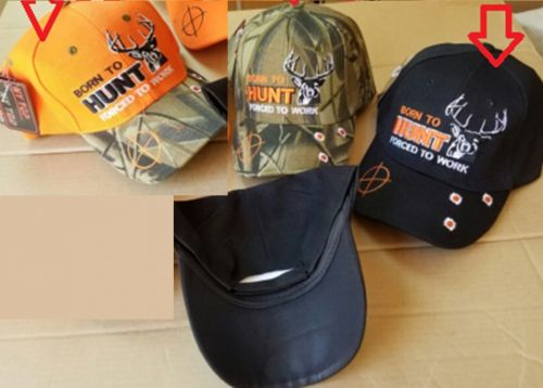 """Baseball Cap """"Born to Hunt, Forced to Work"""""""