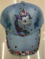 "Baseball Cap ""Unicorn Bling"""