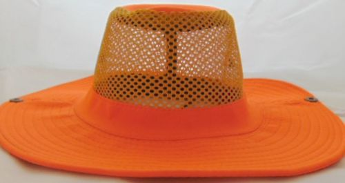 Neon Safari Hat Orange