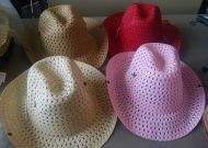 Adult Mesh Cowgirl Hat