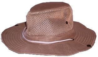 Tan Safari Hat 62 cm