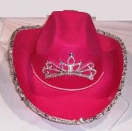 Light Up Cowgirl Hat with Sequin 4 Color