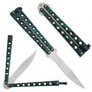 """Butterfly Knife """"Green"""""""