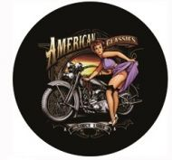 "12"" Round Metal Sign ""American Classic"""
