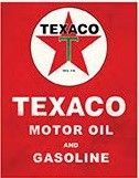 "12 x 15 Metal Sign ""Texaco"""