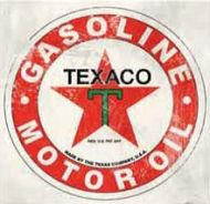 "12 x 12 Metal Sign ""Texaco"""
