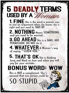 """12 x 15 Metal Sign """"5 Deadly Terms"""""""
