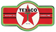 "LED Light Up Marque ""Texaco Red"""