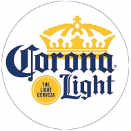"15"" Dome Sign ""Corona Light"""