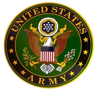 "15"" Dome Sign ""Army Emblem"""