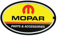 "LED Light Up Oval ""Mopar"""