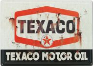 "12x17 Metal Sign ""Texaco, Vintage"""