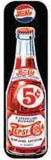 "5 x 24 Metal Sign ""Pepsi"""