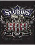 "12 x 15 Metal Sign ""Take a Ride to Sturgis"""