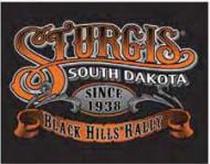 "12 x 15 Metal Sign ""Sturgis-South Dakota"""