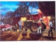 "12 x 15 Metal Sign ""Hadley Tractor-Double Ringer"""