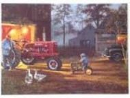 "12 x 15 Metal Sign ""Hadley Tractor-Common Ground"""
