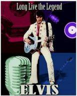 """12 x 15 Metal Sign """"Elvis"""""""