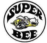 "12"" Round Sign ""Super Bee"""