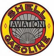 """12"""" Round Sign """"Shell"""""""