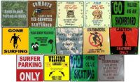 Metal Sign Magnets (Assortment A)