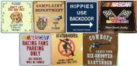 Metal Sign Magnets (Assortment B)