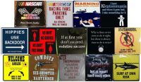 Metal Sign Magnets (Assortment C)