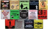 Metal Sign Magnets (Assortment E)