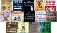 Metal Sign Magnets (Assortment F)