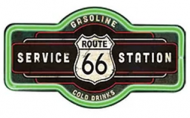 "LED Light Up Sign ""Route 66 Marque"""