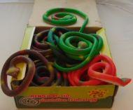 78 cm Rubber Snakes (dozen)